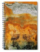 Wall Abstract 35 Spiral Notebook