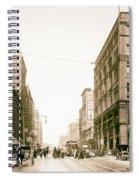Walnut Street - Kansas City 1906 Spiral Notebook