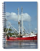 Wanchese Harbor Spiral Notebook