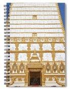 Wat Nong Bua Main Stupa Base Dthu453 Spiral Notebook