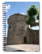 Watch Tower In Cluny Spiral Notebook