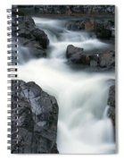 Water Over Rocks Spiral Notebook