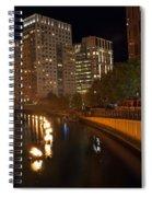 Waterfire.  Providence Rhode Island Spiral Notebook