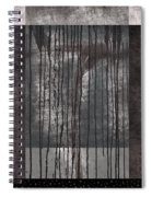 Watershed Abstract Spiral Notebook