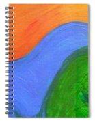 Wavelength Spiral Notebook