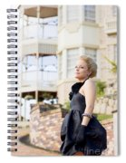 Wealthy Woman Spiral Notebook