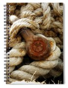 Weathered Spiral Notebook