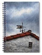 Weathered Weathervane Spiral Notebook