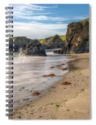 Welsh Coast Spiral Notebook