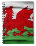 Welsh Flag Spiral Notebook
