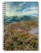 Welsh Mountains Spiral Notebook