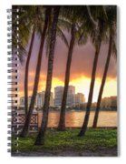 West Palm Beach Skyline Spiral Notebook