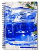 Wet Paint 54 Spiral Notebook