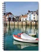 Weymouth Harbour Spiral Notebook