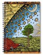 Where Heaven And Earth Meet 1888 Spiral Notebook