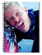 Billy Idol - Whiplash Smile Spiral Notebook