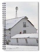 White Barn Spiral Notebook
