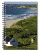 White Park Bay, Ireland Spiral Notebook