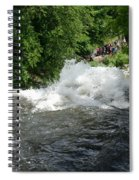 Wild Water Spiral Notebook