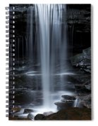 Wilderness Waterfall Spiral Notebook