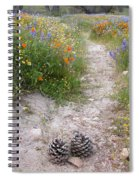 Wildflower Wonderland 11 Spiral Notebook