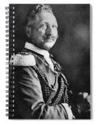 Wilhelm II (1859-1941) Spiral Notebook