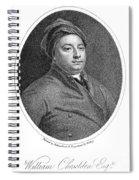 William Cheselden Spiral Notebook