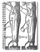 William Harvey: Blood, 1628 Spiral Notebook