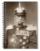 William I Of Prussia (1797-1888) Spiral Notebook