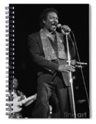 Wilson Pickett Spiral Notebook