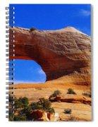 Wilsons Arch Spiral Notebook