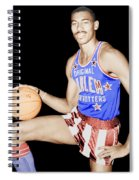 Wilt Chamberlain As A Member Of The Harlem Globetrotters  Spiral Notebook