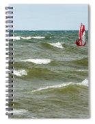 Wind Surfing Spiral Notebook