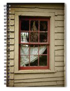 Window - Glimpse Into The Past Spiral Notebook