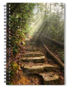 Window Of Heaven Spiral Notebook