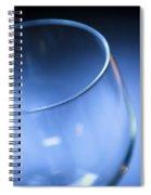 Wine Glass Spiral Notebook