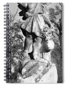 Winged Girl 6 Spiral Notebook