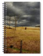 Winter Begins Spiral Notebook