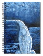 Winter Goddess Spiral Notebook