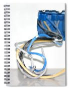 Wire Box Spiral Notebook