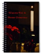 Wishing You A Merry Christmas Spiral Notebook