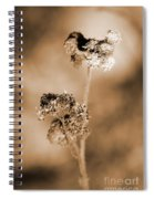 Withering Weed Spiral Notebook