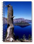 Wizard Island Spiral Notebook