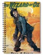 Wizard Of Oz, 1903 Spiral Notebook