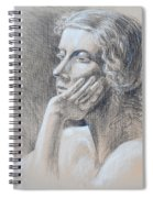 Woman Head Study Spiral Notebook