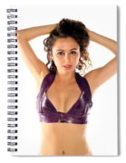 Woman Posing Spiral Notebook