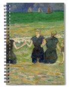 Women Bathing Spiral Notebook