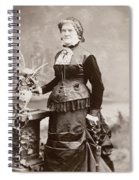 Women's Fashion, 1880s Spiral Notebook