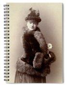 Women's Fashion, 1890 Spiral Notebook