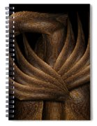 Wooden Bird Spiral Notebook